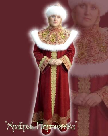 Исторический костюм царицы