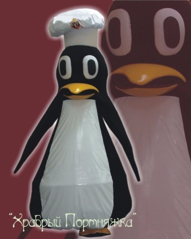 Кукла ростовая Пингвин